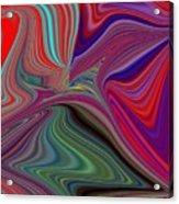 Fluid Motion 5 Acrylic Print