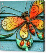 Flutterby Acrylic Print
