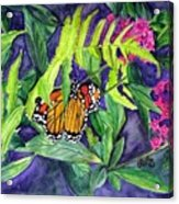 Fluttering By  Acrylic Print