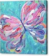 Fluttering Jewel Acrylic Print