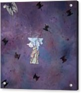 Fluttering Thoughts Acrylic Print