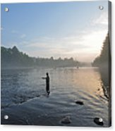 Fly Fishing 2 Acrylic Print