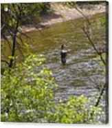 Fly Fishing Acrylic Print