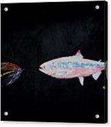 Fly Fishing Two Acrylic Print