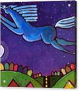 Fly Free From Normal Acrylic Print