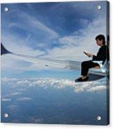 Flying 3rd Class Acrylic Print