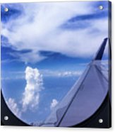 Flying Above The Clouds Acrylic Print
