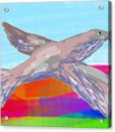 Flying Bird II Acrylic Print