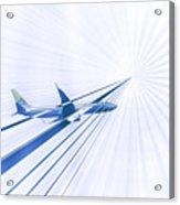 Flying Blind 2 Acrylic Print