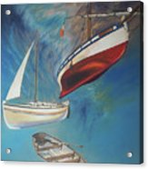 Flying Boats Acrylic Print