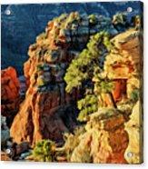 Flying Buttress 06-045 Acrylic Print