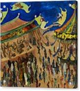 Flying Carpets   Acrylic Print
