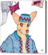 Flying Chihuahua's Acrylic Print