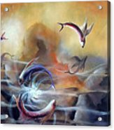 Flying Fishes Acrylic Print