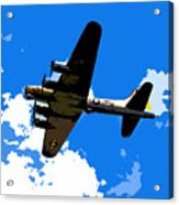Flying Fortress Acrylic Print
