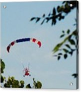 Paraplane Flying High Acrylic Print