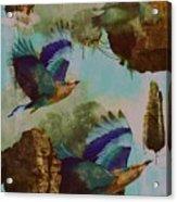 Flying Islands Acrylic Print