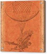 Flying Machine - 01c02 Acrylic Print