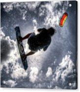 Flying  Acrylic Print by Nick  Shirghio