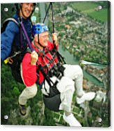 Flying Over Interlaken Acrylic Print