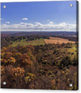 Flying Over New Milford Acrylic Print