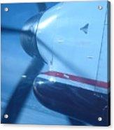 Flying Prop Acrylic Print