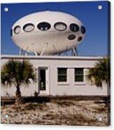 Flying Saucer House Acrylic Print