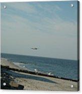 Flying The Beach Acrylic Print