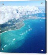 Flying To Paradise Acrylic Print
