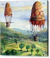 Flyingballons Acrylic Print