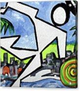 Flyingboyeee Acrylic Print