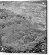 Foam Frozen In Time Acrylic Print