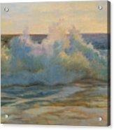 Foaming Ocean Waves Acrylic Print