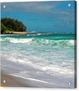 Foamy Surf Acrylic Print