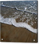 Foamy Water Acrylic Print