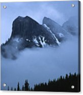 Fog And Clouds Acrylic Print