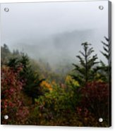 Fog And Drizzle. Acrylic Print