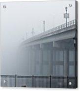 Fog At Granada Bridge Acrylic Print