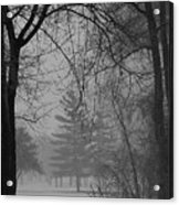 Fog At Metro Beach Acrylic Print
