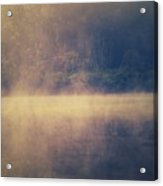 Fog In The Foothills Acrylic Print