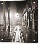 Fog In The Market Acrylic Print