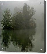 Fog In The Park- Warminster Acrylic Print