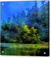 Fog Lake Acrylic Print