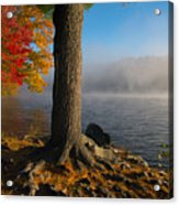 Fog Lifting Acrylic Print