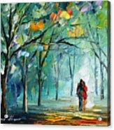 Fog Of Love Acrylic Print