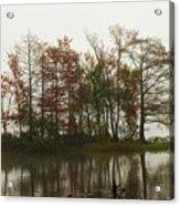 Fog On The River Acrylic Print