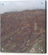 Fog Over The Hill Acrylic Print