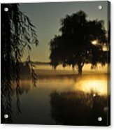 Fog Water And Sun Acrylic Print