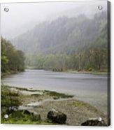 Foggy Day At Loch Lubnaig Acrylic Print