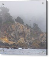 Foggy Day At Point Lobos Acrylic Print